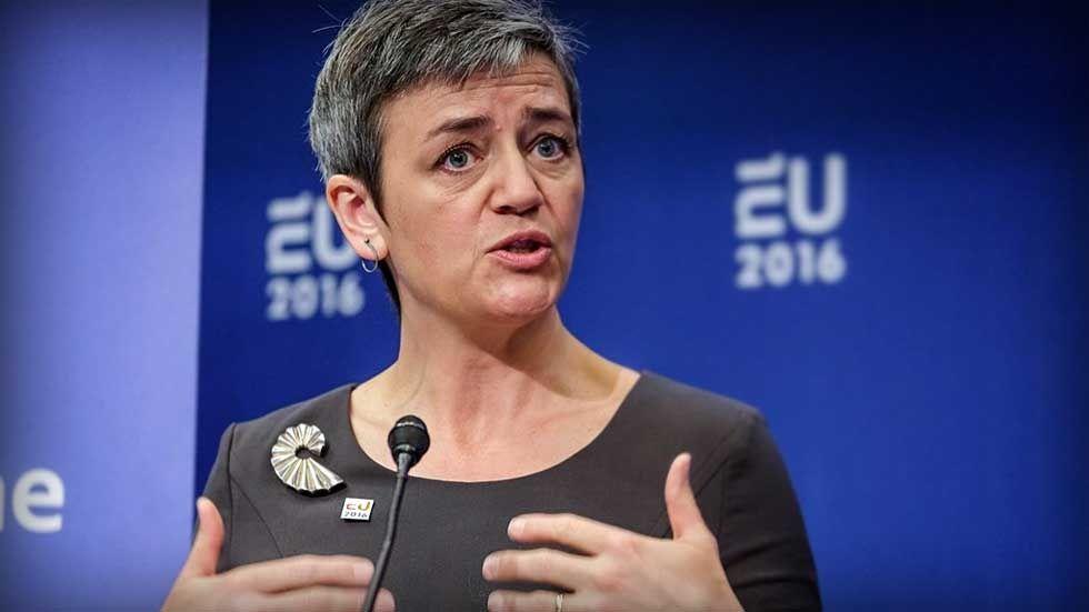 Margrethe Vestager, kommissionär med ansvar för konkurrensfrågor.