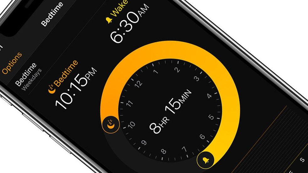 Sängdags på Iphone