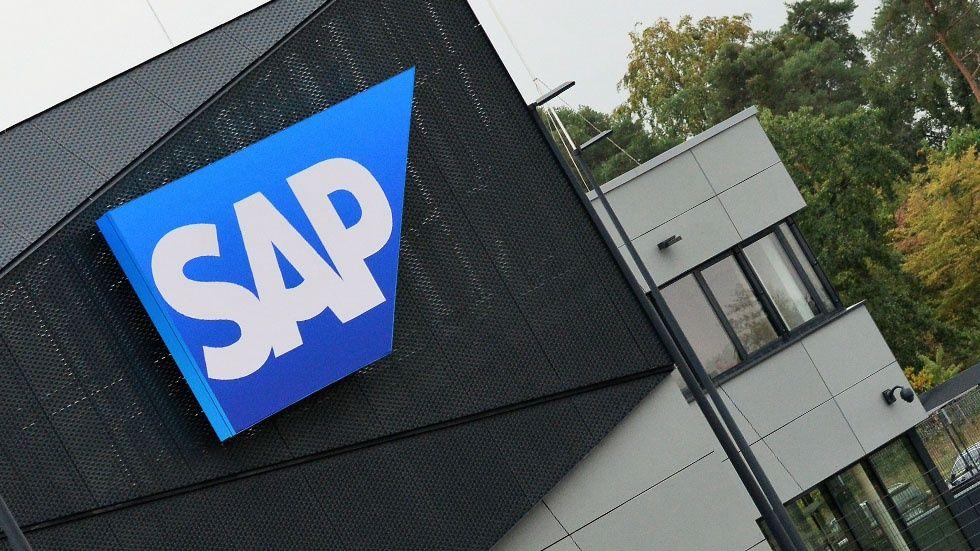 SAP-skylt