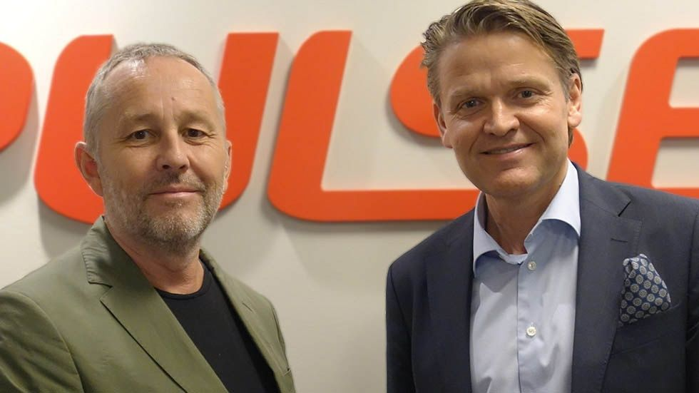 Thomas Lantz och Martin Hogmalm