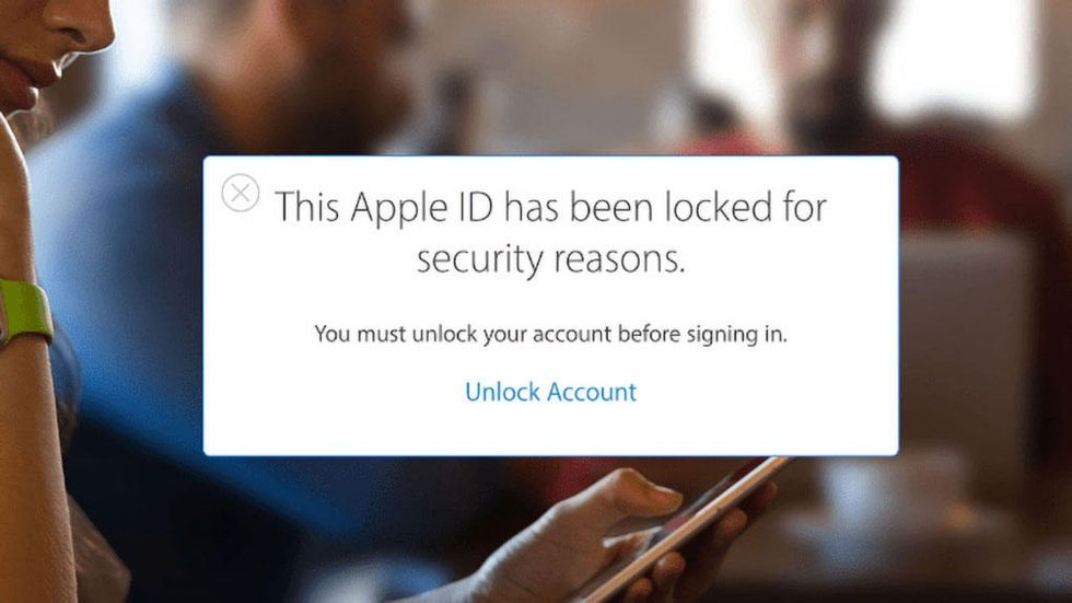 Låst Apple ID