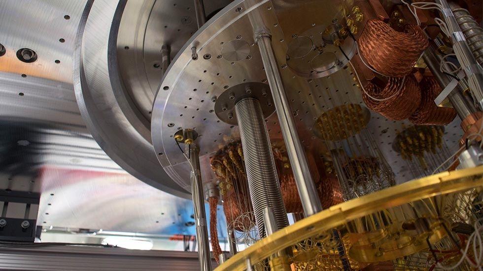 En av IBM:s kvantdatorer
