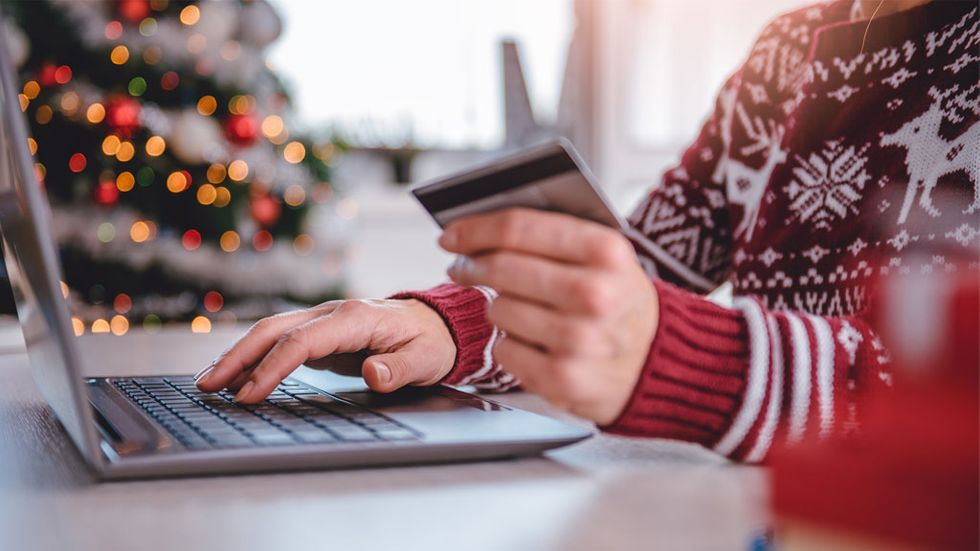 Online-shopping, handla på nätet