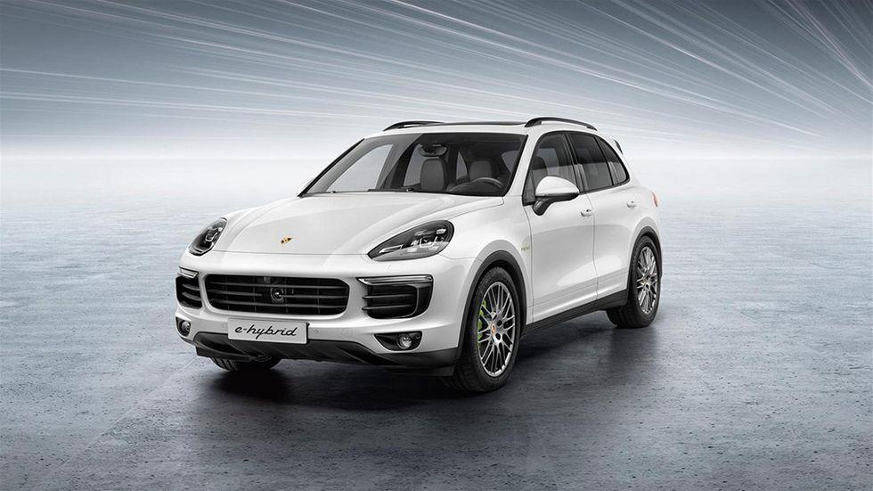 Test Porsche Cayenne E-Hybrid