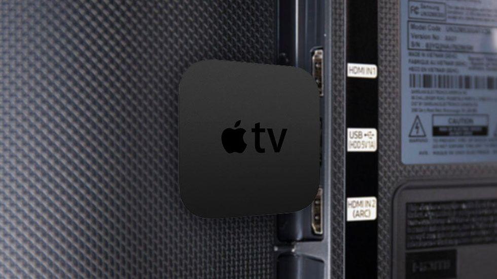 Montage: Apple TV som dongel