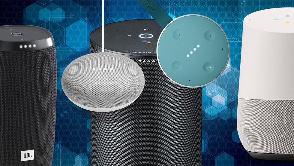 Google Assistent-högtalare