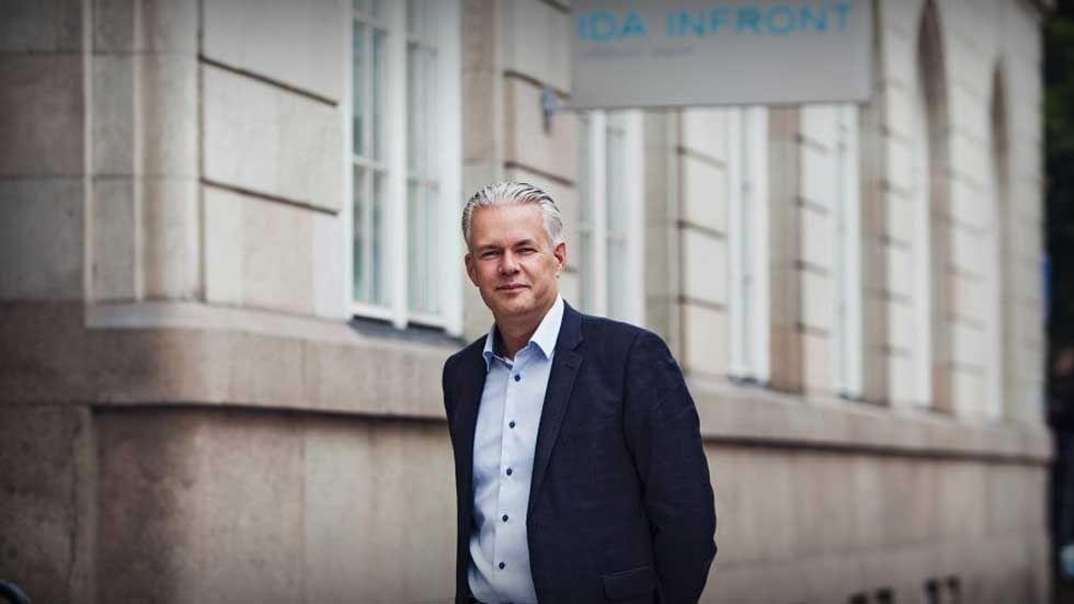 Stefan Jonegård, vd på Ida Infront.