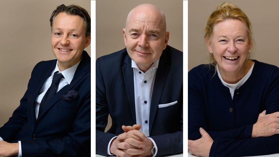Fredrik Almén, Lars Pettersson, Eva Lindqvist