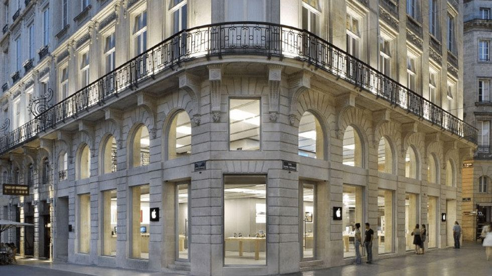 Apples butik i Bordeaux