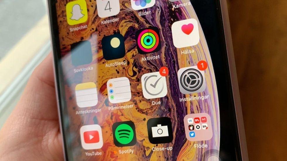 Apple-uppdateringar