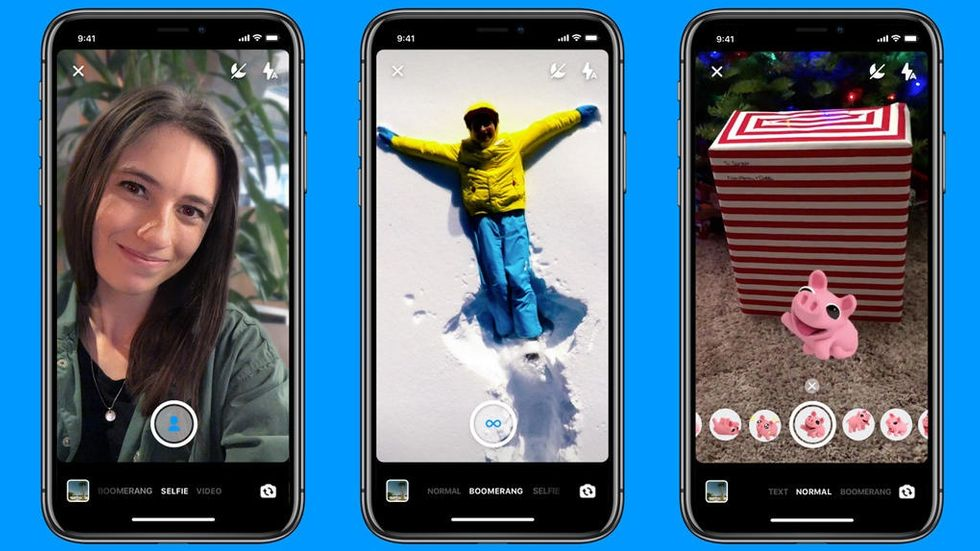 Nya kamerafunktioner i Messenger