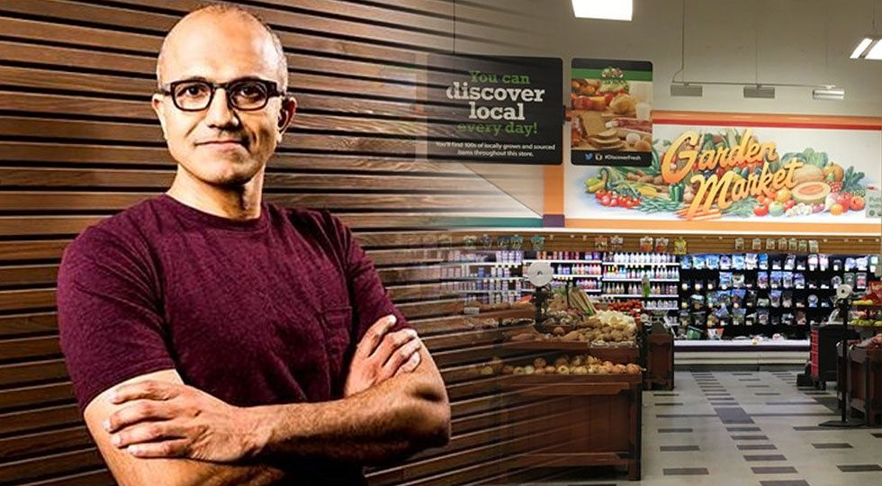 Microsofts vd Satya Nadella