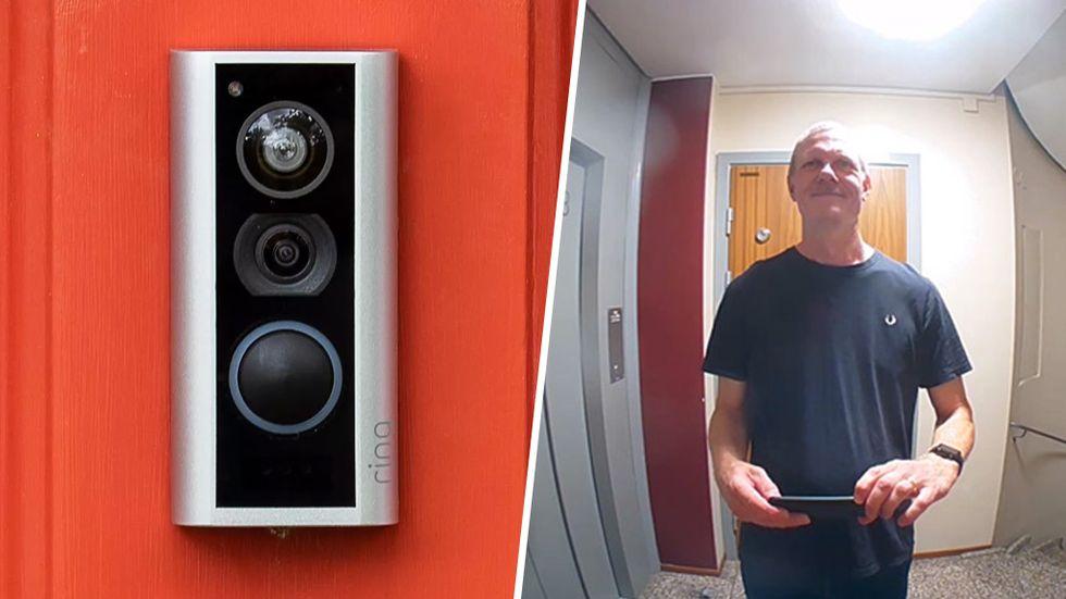Ring Door View Cam test