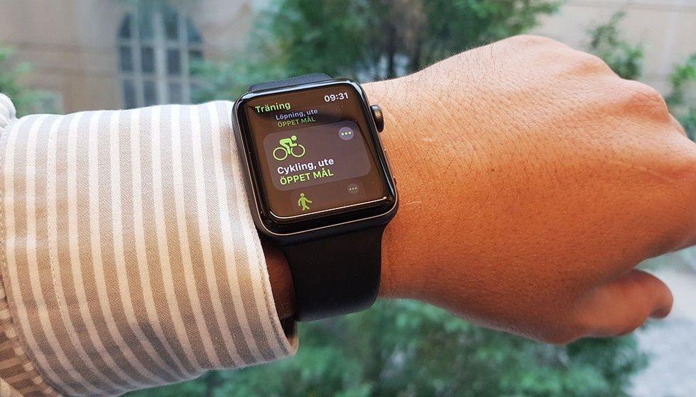 Apple Watch kan få lysande band