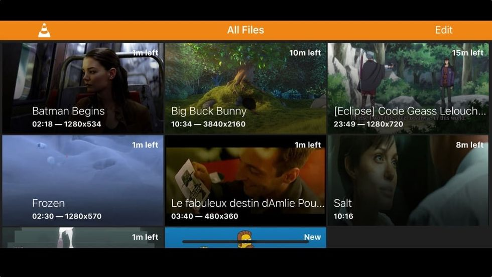 VLC app