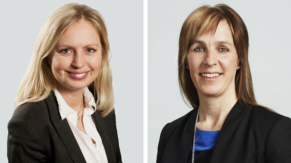 Åsa Arvidsson och Lotta Strömbäck