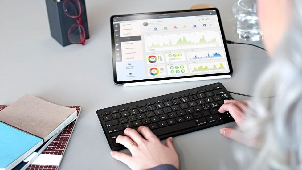 Trådbundet tangentbord för Ipad Pro