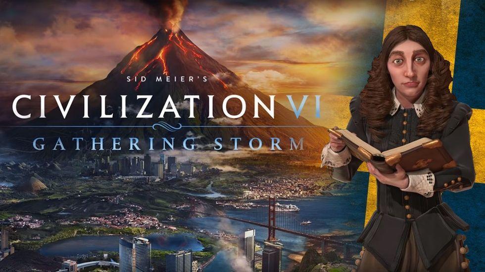 Civilisation 6 Gathering Storm Sverige Kristina