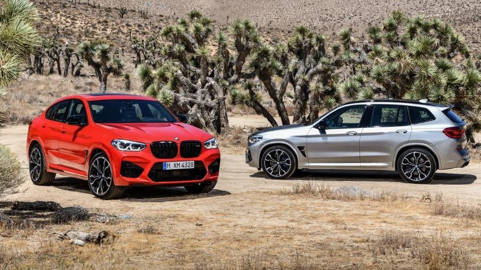 BMW X3 M och BMW X4 M
