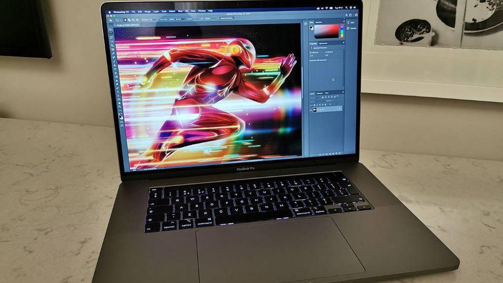 Macbook Pro på 16 tum