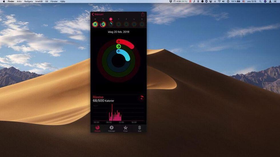 IOS-app på Mac