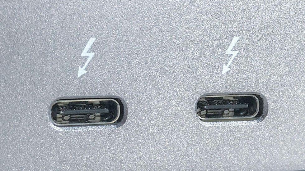 Thunderbolt-kontakter