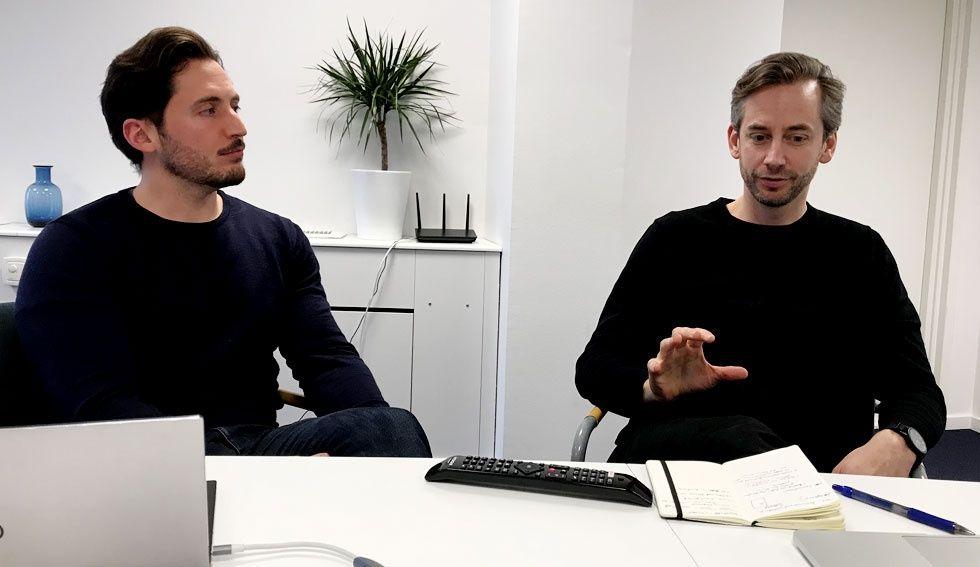 Erik Ringdahl och Joakim Nydrén
