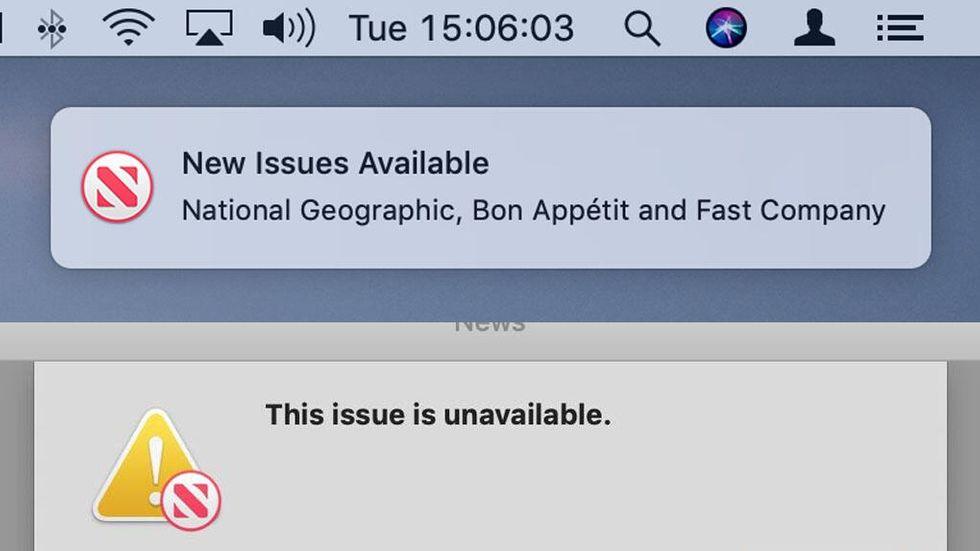 Apples prenumerationstjänst för magasin dyker upp i beta av Mac OS 10.14.4