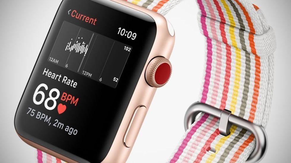 Pulsmätare på Apple Watch