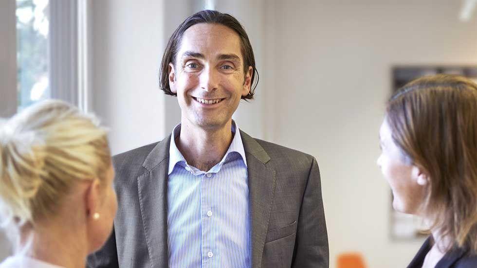 Magnus Lönn, vd på Time People Group