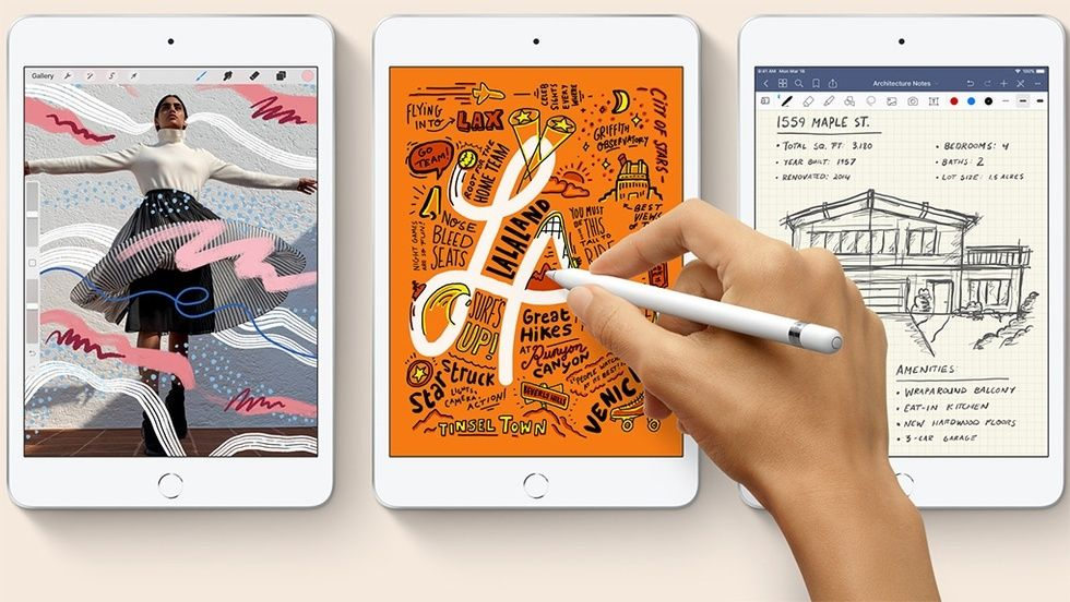 Ipad Mini och Apple Pencil