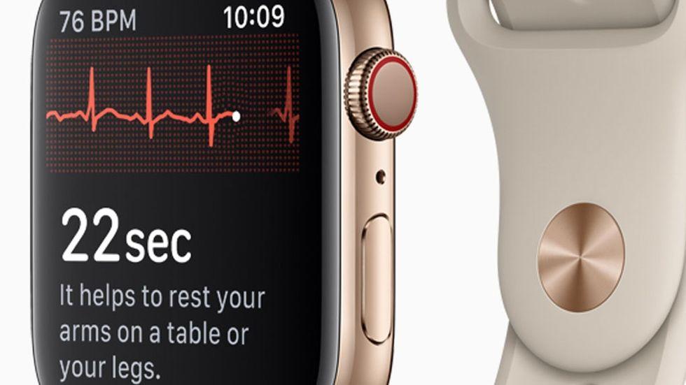 EKG på Apple Watch Series 4