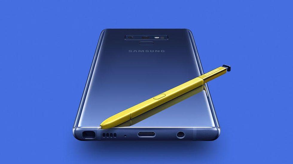 Galaxy Note utan knappar