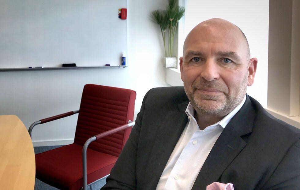 Sverigechefen på Suse Peder Daxberg