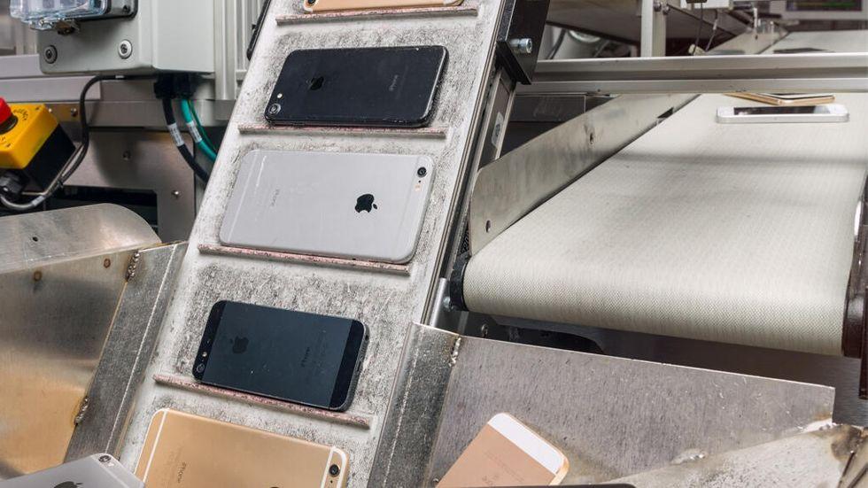 Iphone-återvinning