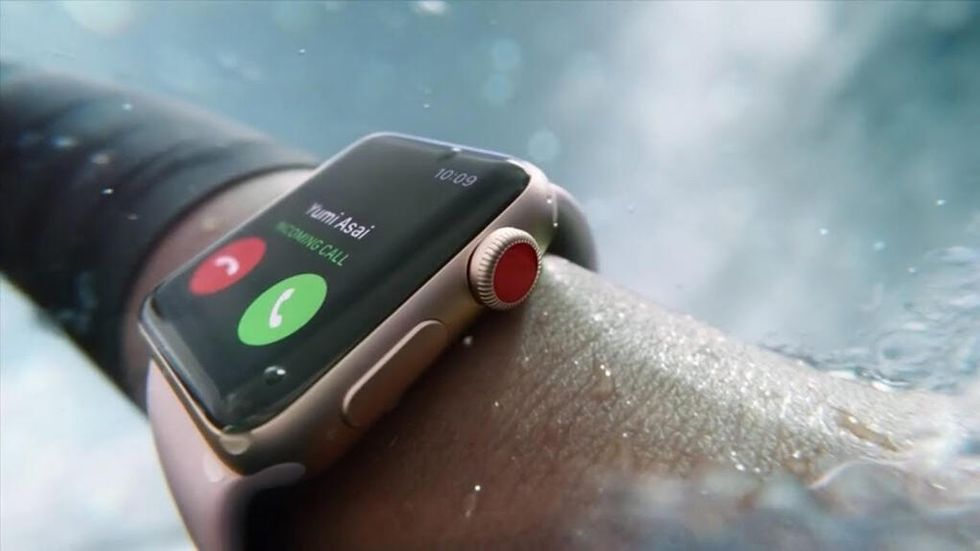 Surfa med Apple Watch