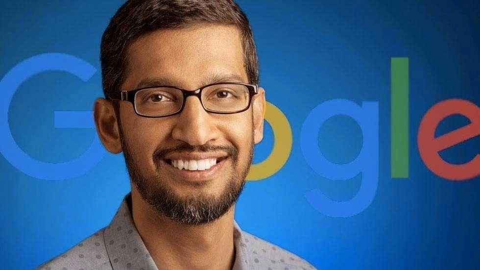 Sundar Pichai, vd på Google