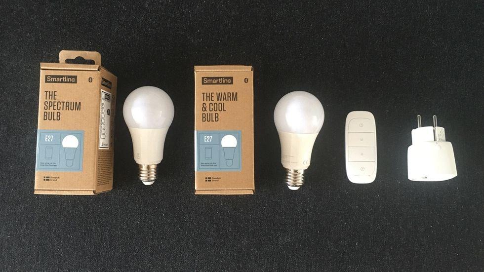 Smartline: Smarta lampor som inte kräver uppkoppling – test M3