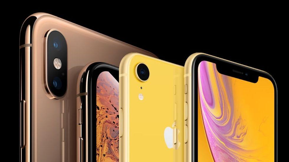 Iphone-försäljningen rasar