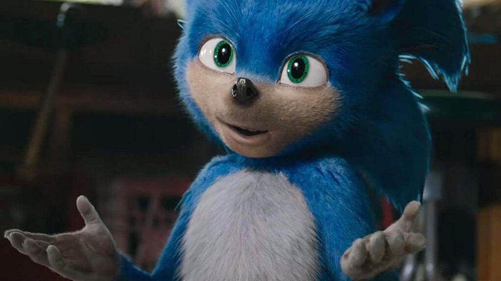 Sonic i nya filmen