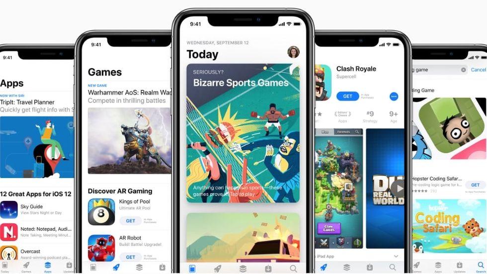 App Store på Iphone
