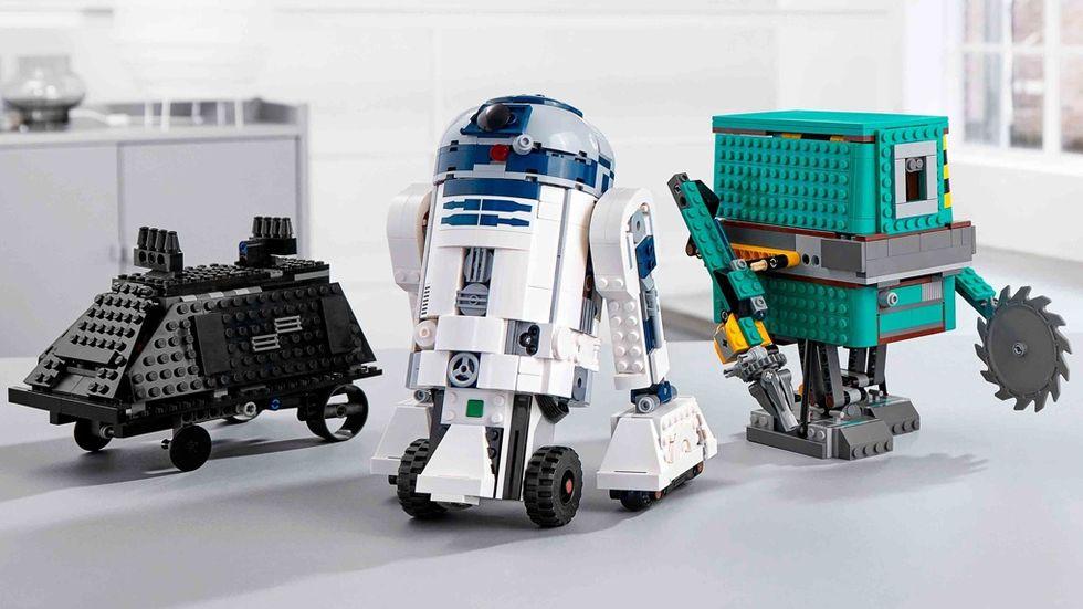 Legos nya programmerbara Star Wars-robotoar