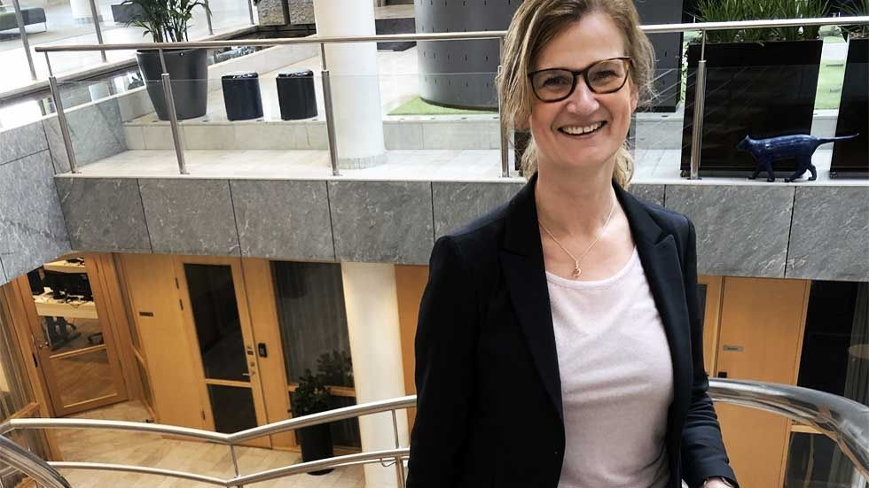 Lena Ringström, it-chef på AMF