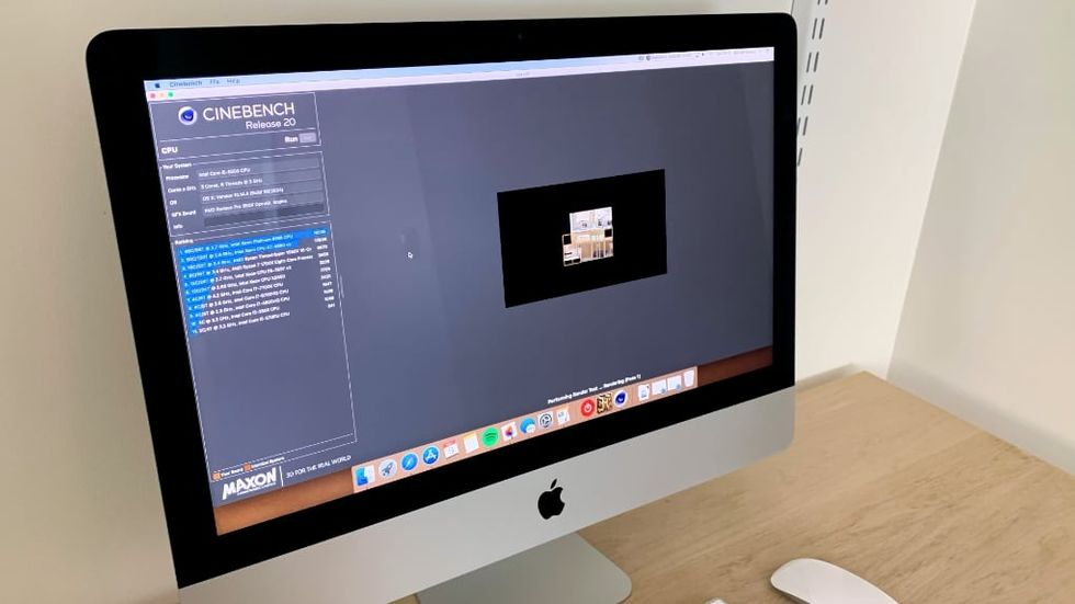 Imac 21,5 tum sex kärnor test