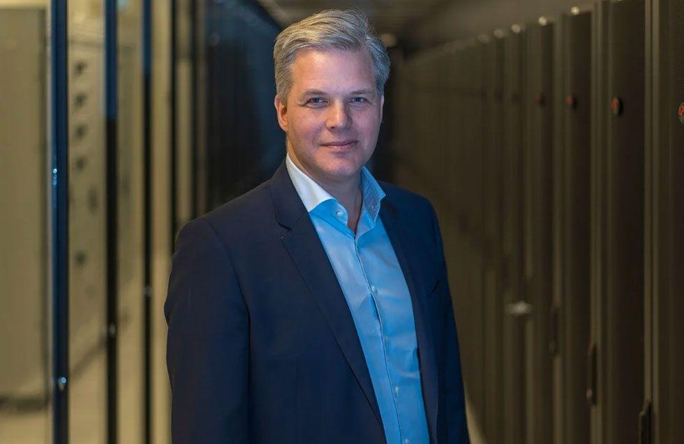 Alexander Kehrer, nordisk sälj och marknadschef på Interxion
