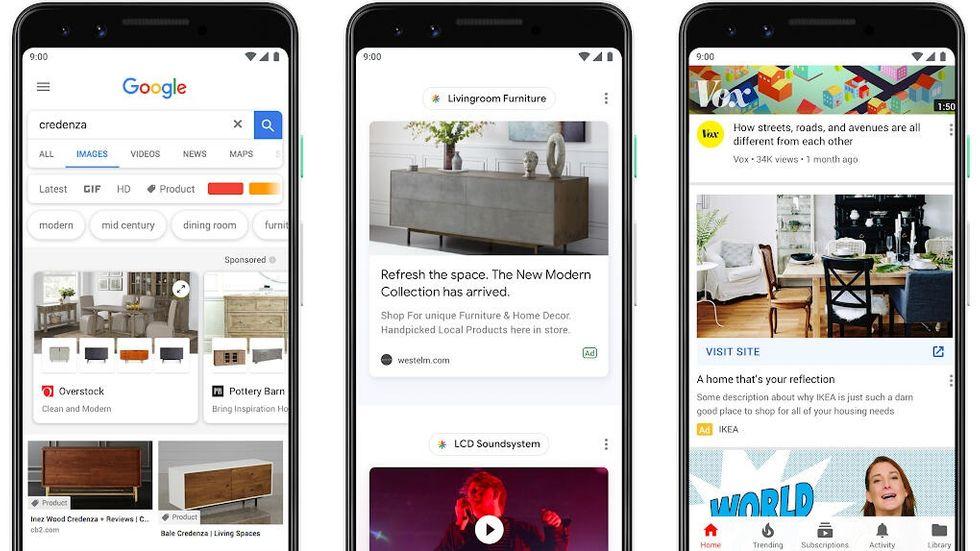 Reklam i Google Förslag