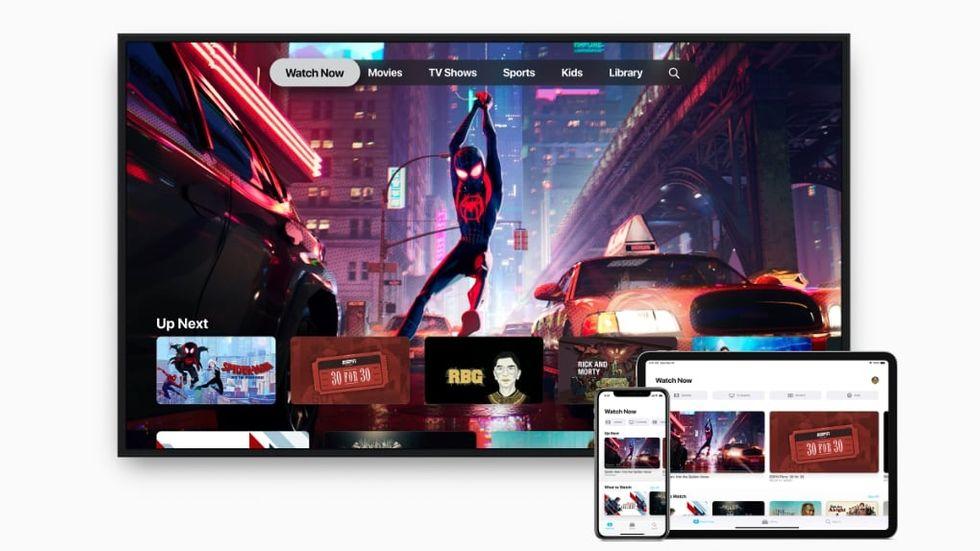 Alla nyheter i TV-appen i IOS 12.3