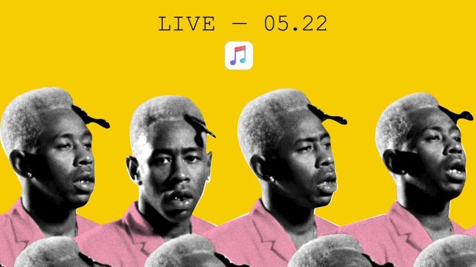 Apples konsert med Tyler, The Creator