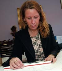 Carina Klinthede är mycket nöjd med sin nätbaserade bokföringstjänst.