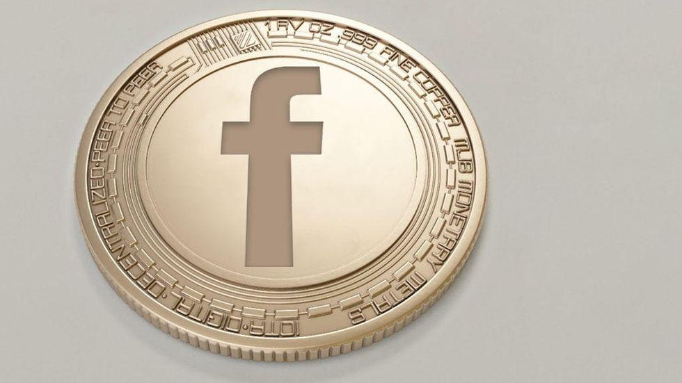 Facebook-mynt